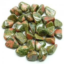 Unakite - pierre roulée