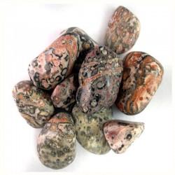 Jaspe Léopard - pierre roulée