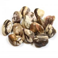 Jaspe zèbre - pierre roulée